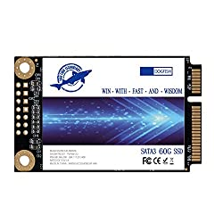 Dogfish Msata 60gb Internal Solid State Drive Mini Sata Ssd Disk