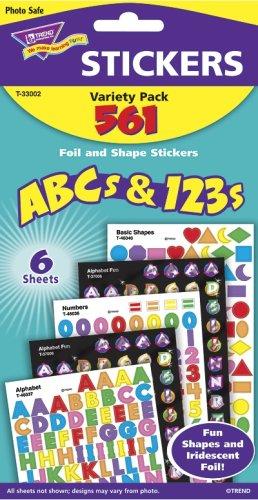 - STICKER MIXED PK ABC'S & 123'S