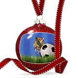 Christmas Decoration Soccer Team Flag Oklahoma region America (USA) Ornament