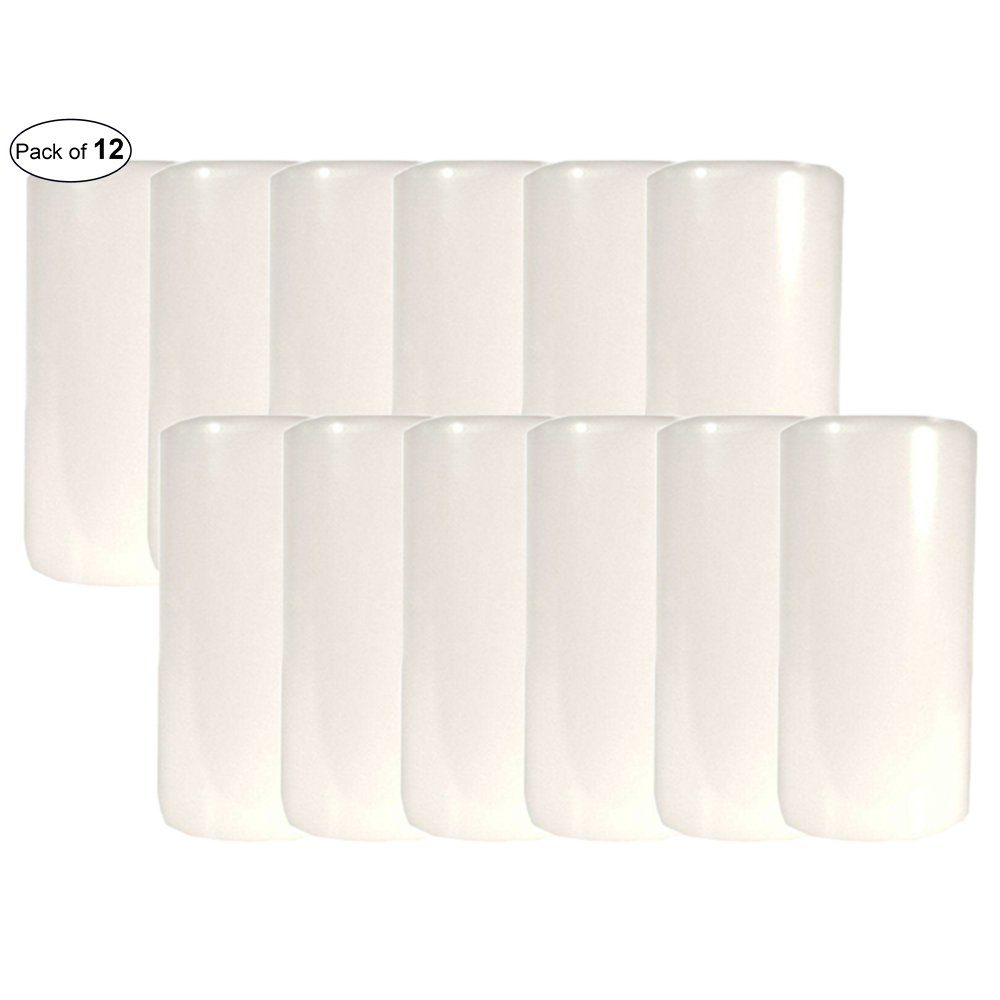 Candle-Lite Pillar Candle Unscented- White (2.8x6) (Pack of 12) by CandleLite ®