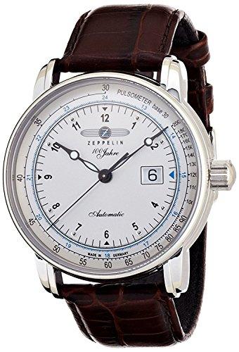 ZEPPELIN watch Special Edition 100 Years Zeppelin White 76641-BR Men's [regular imported goods]