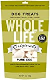 Whole Life Pet Single Ingredient USA Freeze Dried Cod Filet Treats for Dogs, 2-Ounce