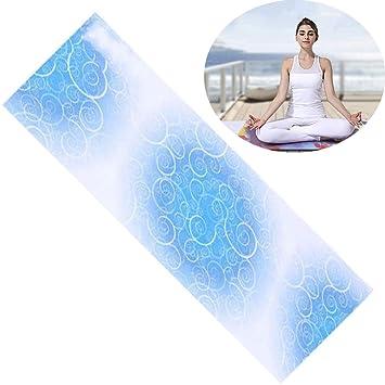 CWDXD Toalla de Yoga Toalla de Microfibra Toalla de Yoga ...