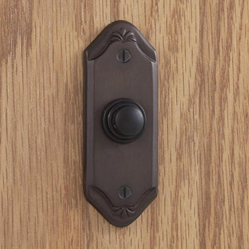Naiture Brass Sprig Doorbell in Oil Rubbed Bronze Finish