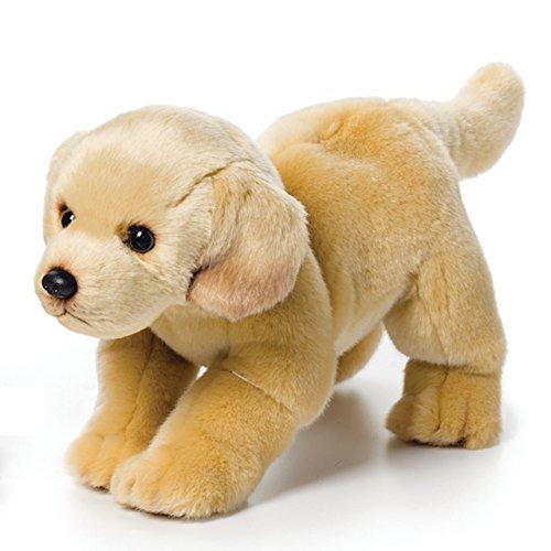 (Nat and Jules Standing Large Yellow Labrador Dog Children's Plush Stuffed Animal Toy)