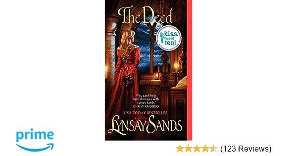 The Deed Historical Romances Lynsay Sands 9780062019707 Amazon