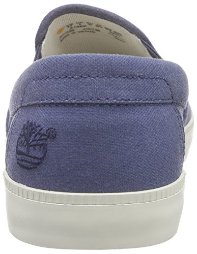 Vintage Newport Timberland Bay Bleu Plain Blue Indigo Baskets Homme Canvas Basses dzzPxrw