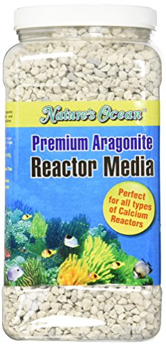 (Nature's Ocean Premium Aragonite Reactor Media for Aquarium, 1-Gallon)