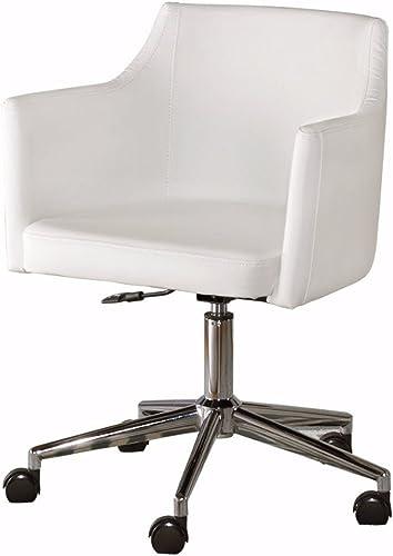 Signature Design by Ashley Baraga Home Office Swivel Desk Chair White