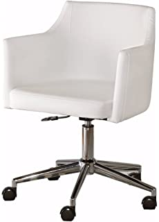 home office furniture contemporary. Ashley Furniture Signature Design - Baraga Home Office Swivel Desk Chair Contemporary Style White