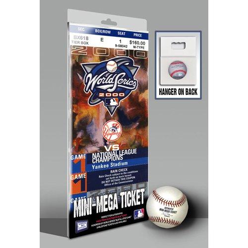 2000 World Series Mini-Mega Ticket - New York Yankees