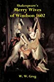 Shakespeare's Merry Wives of Windsor 1602, William Shakespeare, 1494256789
