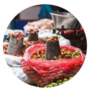 alfombrilla de ratón El vendedor ambulante SELs sus frutas y verduras en Thamel en Ka - ronda - 20cm