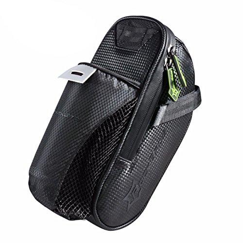 QOJA rockbros cycling bicycle saddle bag pannier bike bag tail by QOJA (Image #3)