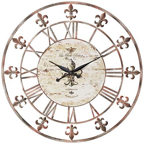 Deco 79 13813 Metal Clock 36