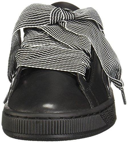 De Puma puma Pour Chaussures Black Black Basket Femmes T5q45r