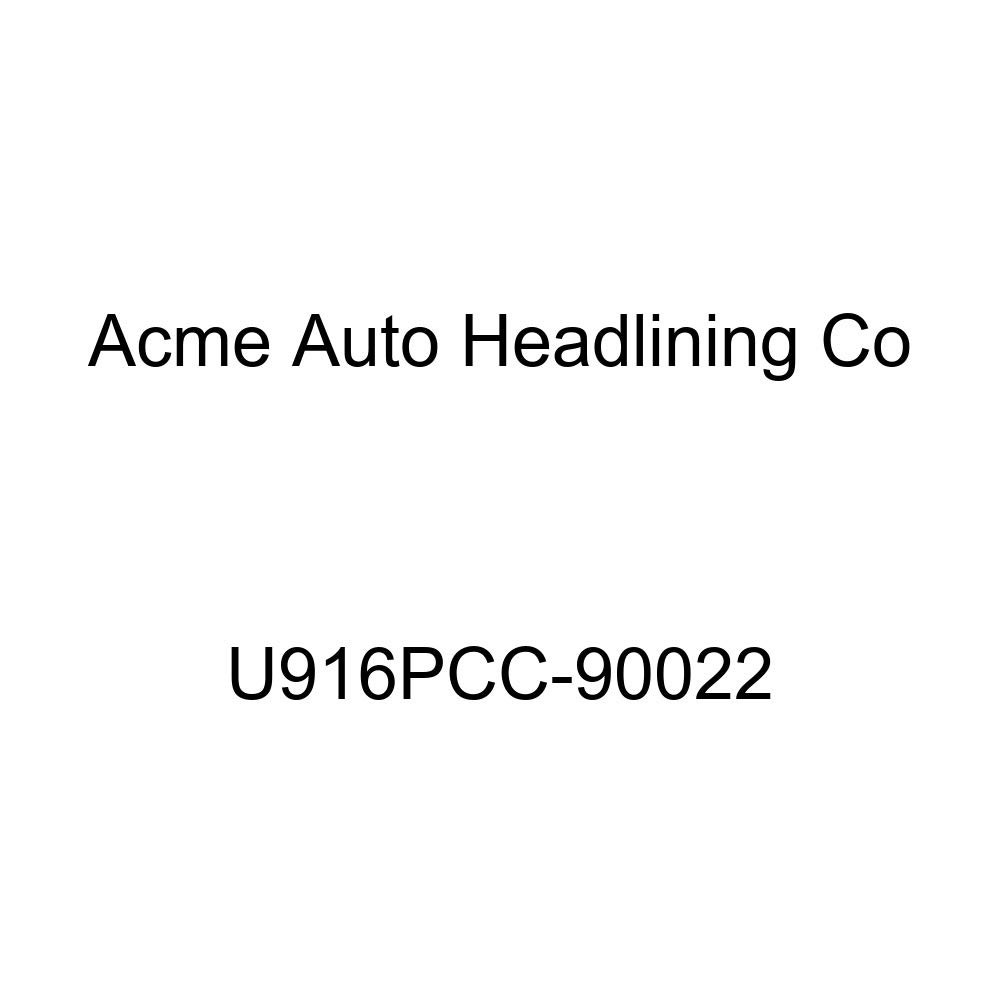 Acme U916PCC-90022 Front and Rear Palomino Vinyl Bench Seat Upholstery