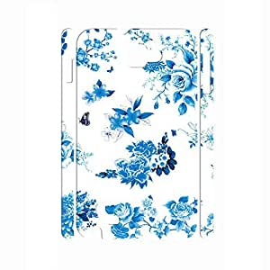 Advanced Blue and White Porcelain pattern Hard Plastic Back Case Cvoer for Samsung Galaxy Note I9220 Case