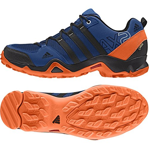 adidas-sport-performance-mens-ax2-gtx-hiking-sneakers-blue-textile-rubber-12-m