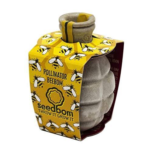 KWH Kabloom Guerrilla Gardening Seed Bomb Bees Pollinator Beebom - Save The Bees (Best Wildflower Seeds Uk)