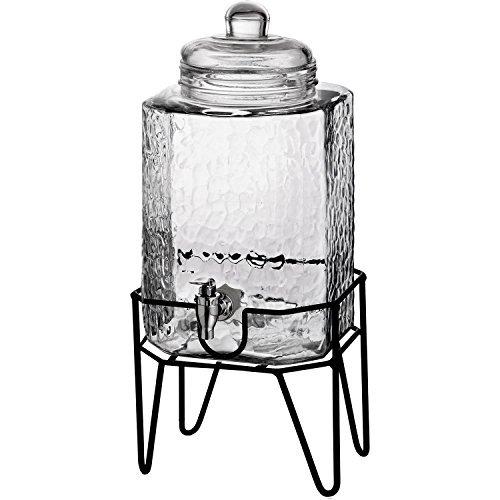 slimline glass beverage - 3