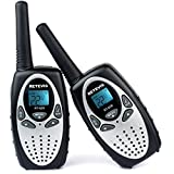 Retevis RT628 Kids Walkie Talkies VOX UHF 462.550- 467.7125MHz 22 FRS/GMRS channel Two Way Radio for kids(1 Pair)