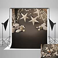 Kate 5x7ft Christmas Children Photography Backdrop Small Bell Stars Photo Background Studio Props