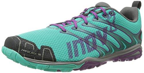 Inov-8 Women's Trailroc 245 Running Shoe,Teal/Grape,12.5 E US