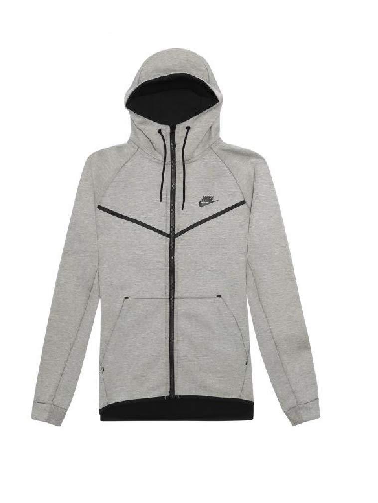 efd72b93f5ca Galleon - Nike Men s Sportswear Tech Fleece Windrunner Light Bone Black  Men s Small