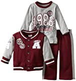 Little Rebels Baby Boys' Three Piece 1986 Jr Varsity Division Jacket Set
