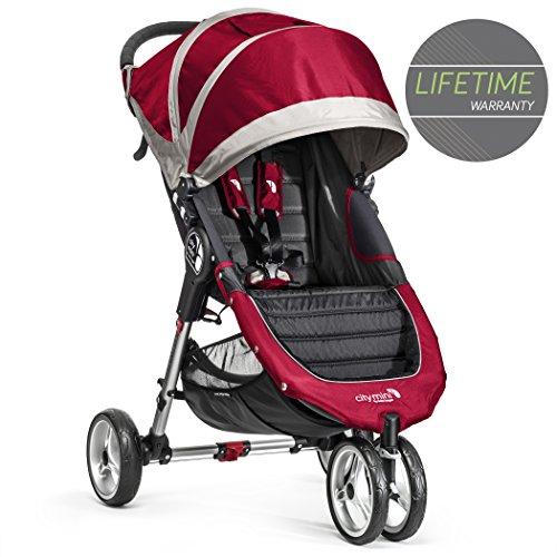 Baby Jogger City Mini Single Stroller Crimson
