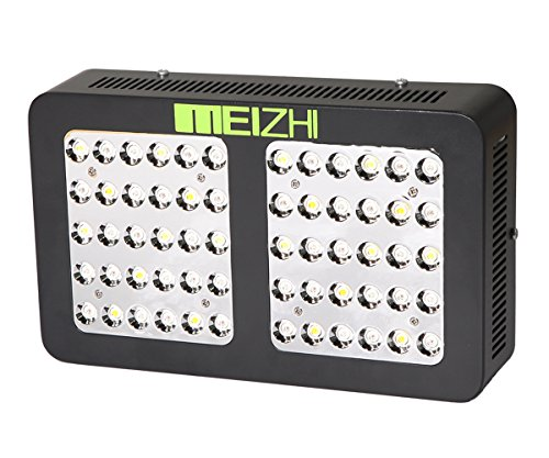 MEIZHI Reflector Series 300W LED Grow Light Switchable Daisy Chain Full Spectrum for Hydroponic Indoor Plants Veg and Bloom