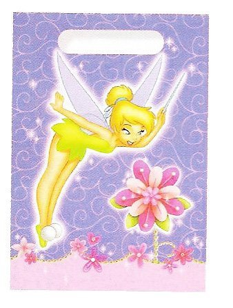 Disney Tinkerbell Treat Bags 8 ct ()