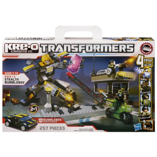 KRE-O Transformers Stealth Bumblebee Set (Stealth Bumble Bee)