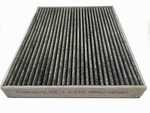 Cleenaire CAF184 The Most Advanced Protection Against Bacteria Dust Viruses Allergens Gases Odors, Cabin Air Filter For Cadillac, Buick, and Impala's (Chevrolet Cruze Cabin Air Filter compare prices)