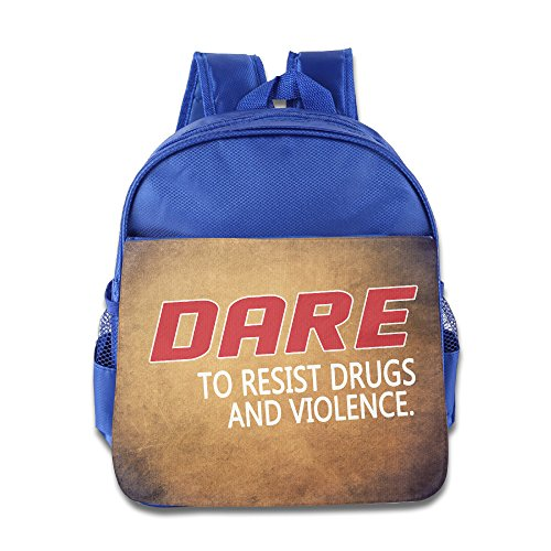 dare-to-resist-drugs-and-violence-children-backpack-royalblue-bag