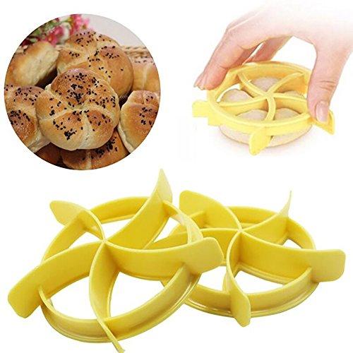 eroute66 Mould Home DIY Bread Kitchen Dessert Cookies Stamper Baking Tools Pastry (Toast Bread Stamper)