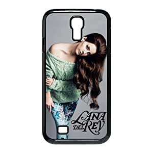 Customize Pop and sexy singer Lana Del Rey black plastic Case Fits and Protect SamSung Galaxy S4 I9500 at jany store123 store
