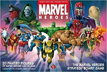 Marvel Heroes: The Marvel Universe Strategy Boardgame by Fantasy Flight Games