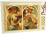 1000 Piece Fruit & Flower Jigsaw Puzzle By Alphonse Mucha