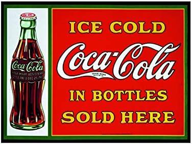 Imán para Nevera con diseño de Cola de Coca Helada, Estilo Retro ...