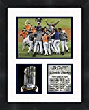 Houston Astros - 2017 World Series Champions , 11 x 14 Matted Collage Framed Photos Ready to hang