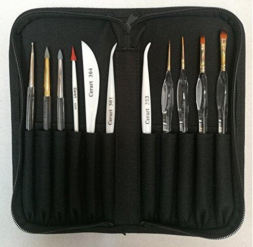 Etui Schwarz+ Werkzeug für Modelling – Best Seller – cerart