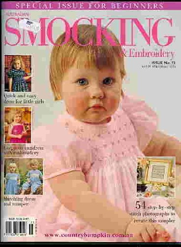(Australian Smocking and Embroidery Issue No 73)