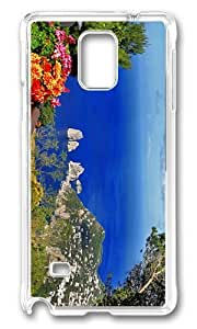 MOKSHOP Adorable anacapri Full day tour of Capri Island italy Hard Case Protective Shell Cell Phone Cover For Samsung Galaxy Note 4 - PC Transparent by lolosakes