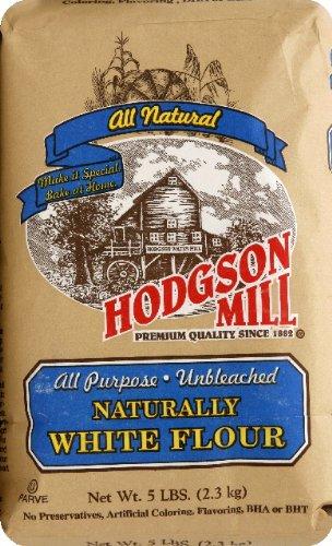 Hodgson Mill Unbleached Flour, 5 Lb - 6 Per Case.