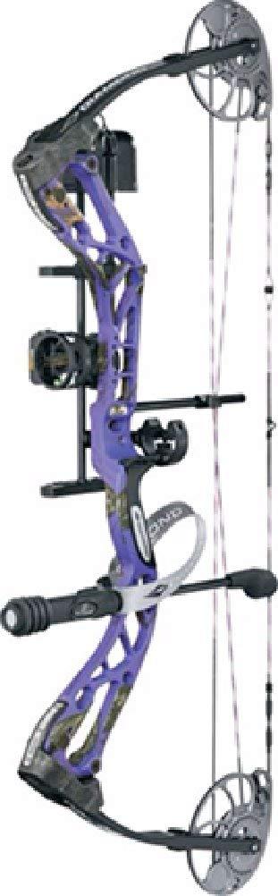 Diamond Archery Edge Sb-1 Bow Pkg Purple Blaze Right Hand 15-30'' 7-70 Lbs by Diamond