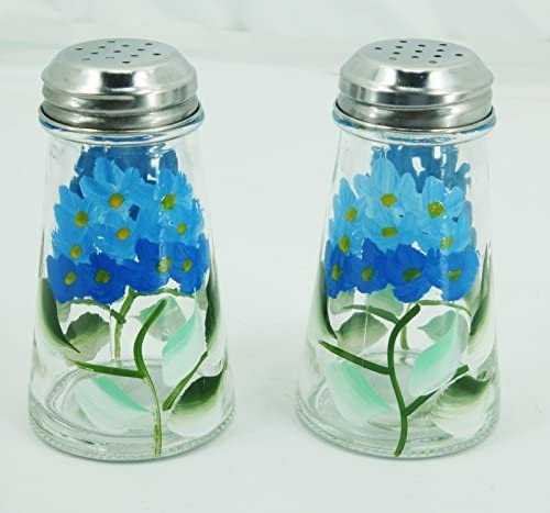 By Grant Howard Blue Hydrangeas Salt and Pepper Shaker Set