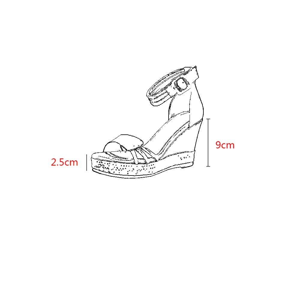 De Cuña Zapatos Negros Eeayyygch Sandalias Tacones Paja 9cm wAIx7U