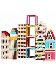Wooden Creative Building Blocks Game -150 PCs